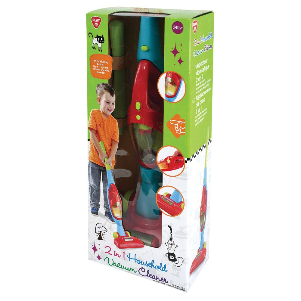 Alternate Image #4 of 2-in-1 Dramatic Play Vacuum Cleaner with Sound