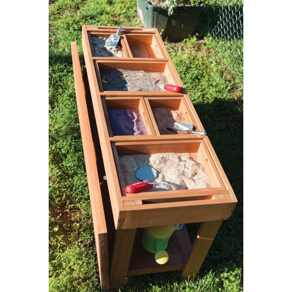 Alternate Image #2 of Outdoor Sorting Table with Lid