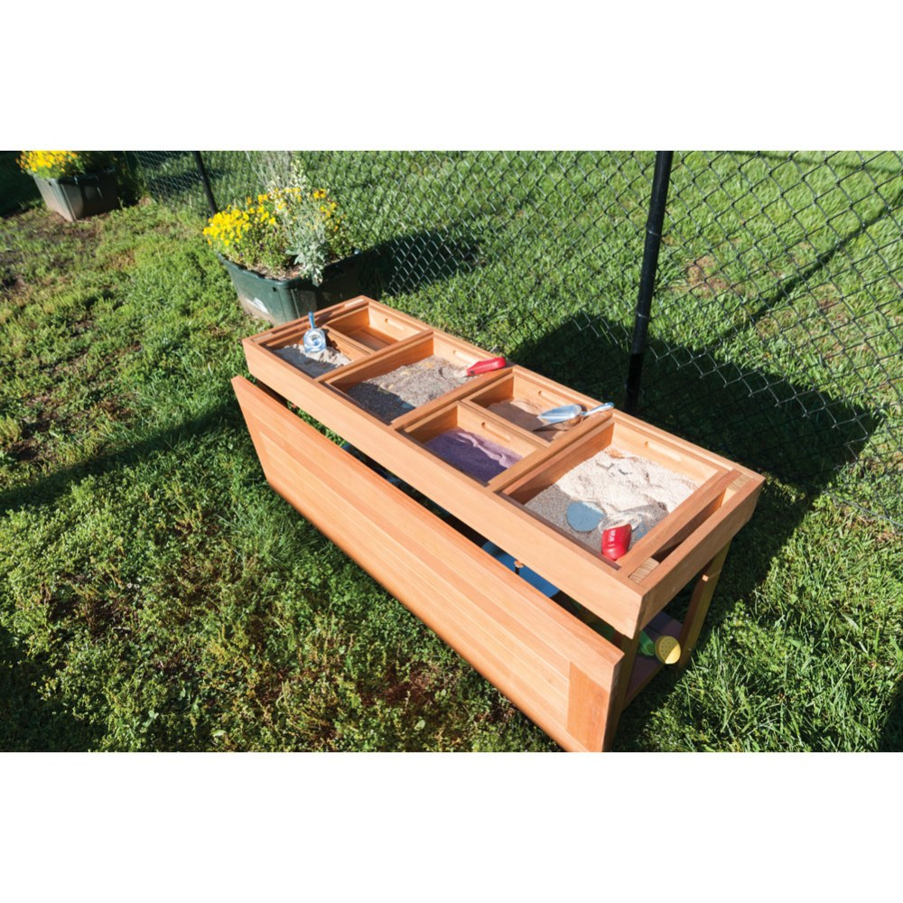 Alternate Image #3 of Outdoor Sorting Table with Lid