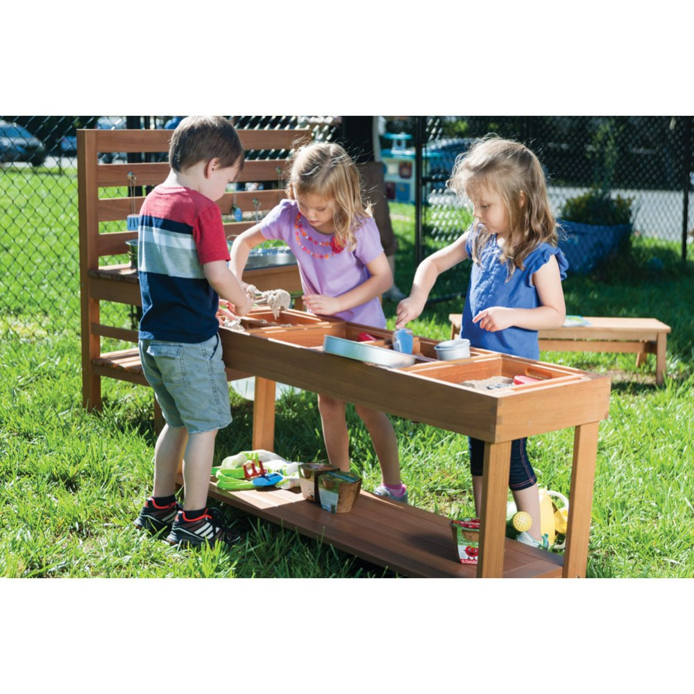 Alternate Image #6 of Outdoor Sorting Table with Lid