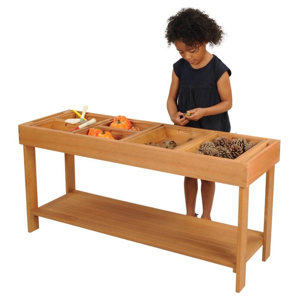 Alternate Image #8 of Outdoor Sorting Table with Lid