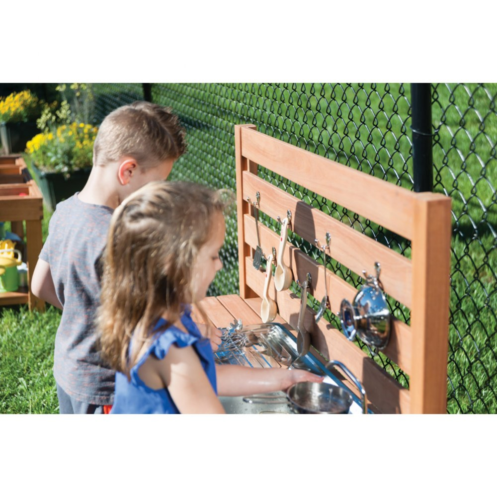 Alternate Image #5 of Outdoor Mud Kitchen with Pump