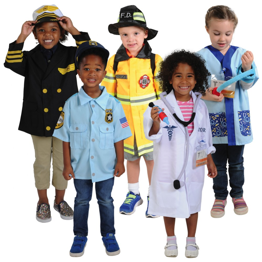 Career Dramatic Play Costumes for Pre K Set 2