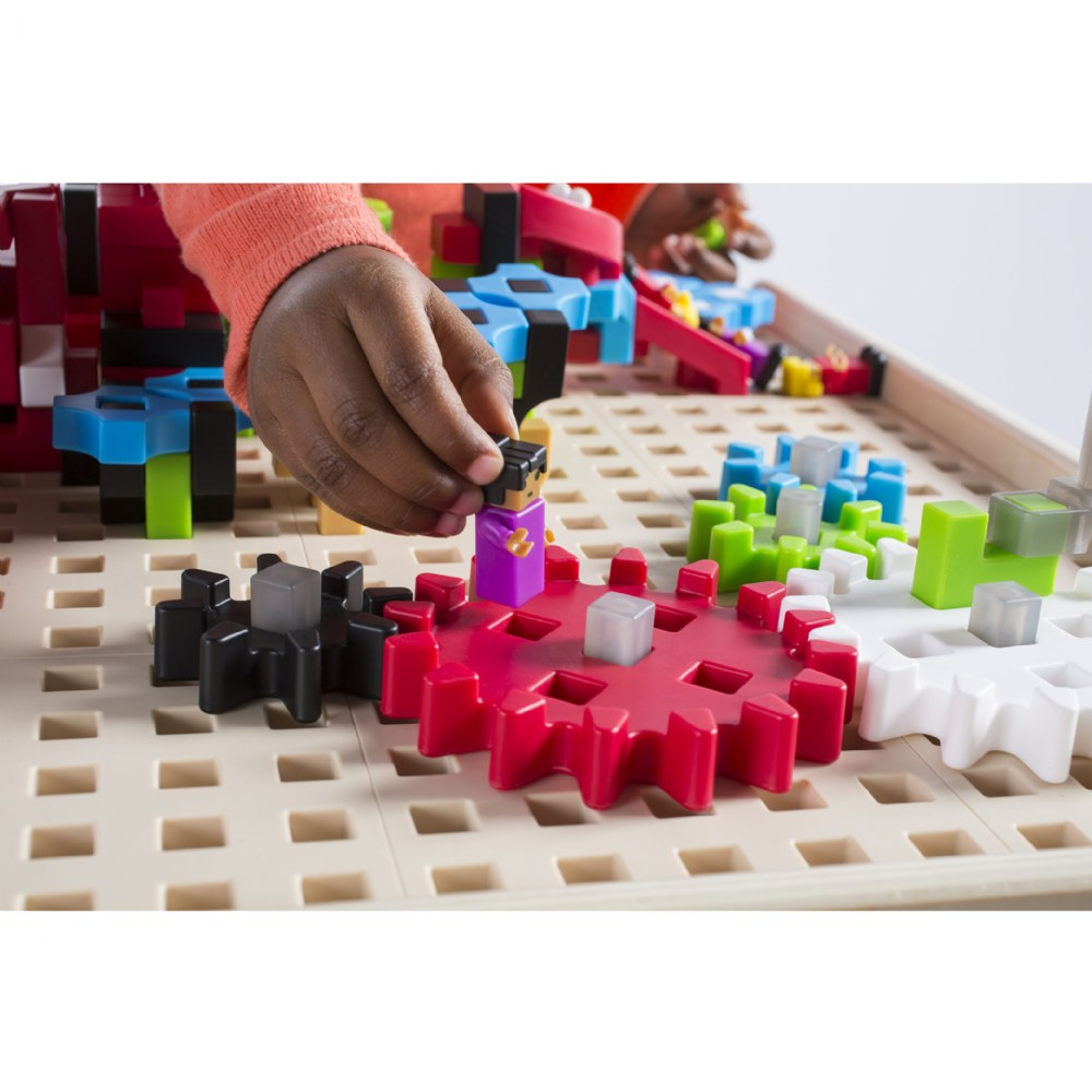 Alternate Image #2 of IO Blocks® Center - 458 Building Pieces - STEM Educational and Learning Toy for Toddlers