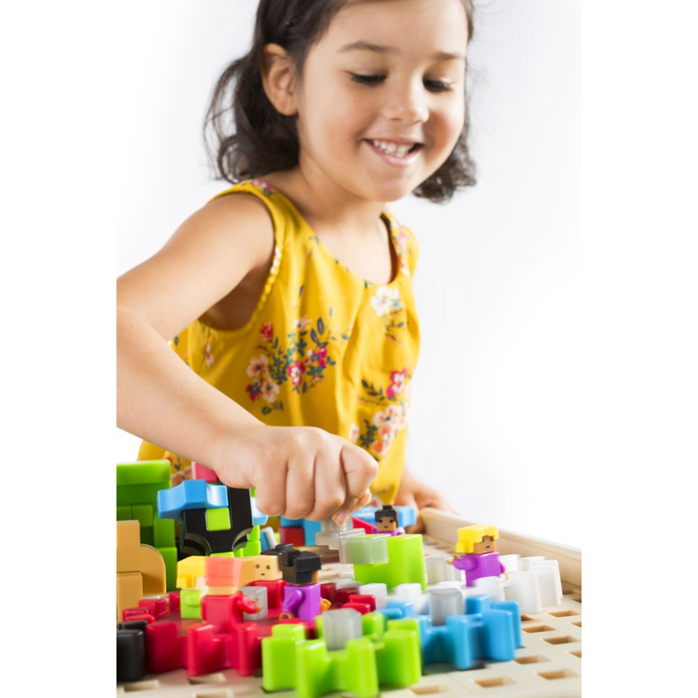 Alternate Image #6 of IO Blocks® Center - 458 Building Pieces - STEM Educational and Learning Toy for Toddlers