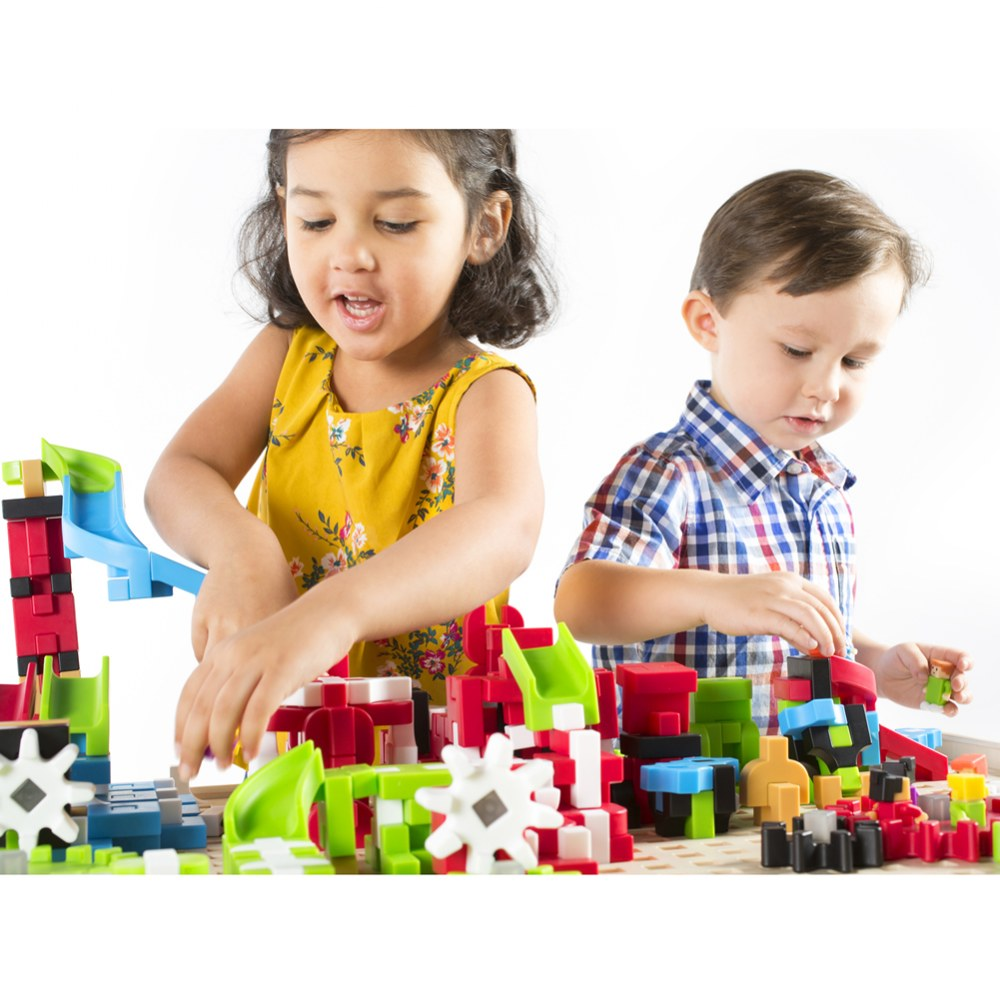Alternate Image #7 of IO Blocks® Center - 458 Building Pieces - STEM Educational and Learning Toy for Toddlers