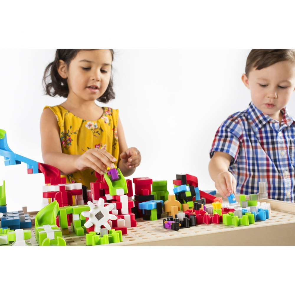 Alternate Image #8 of IO Blocks® Center - 458 Building Pieces - STEM Educational and Learning Toy for Toddlers