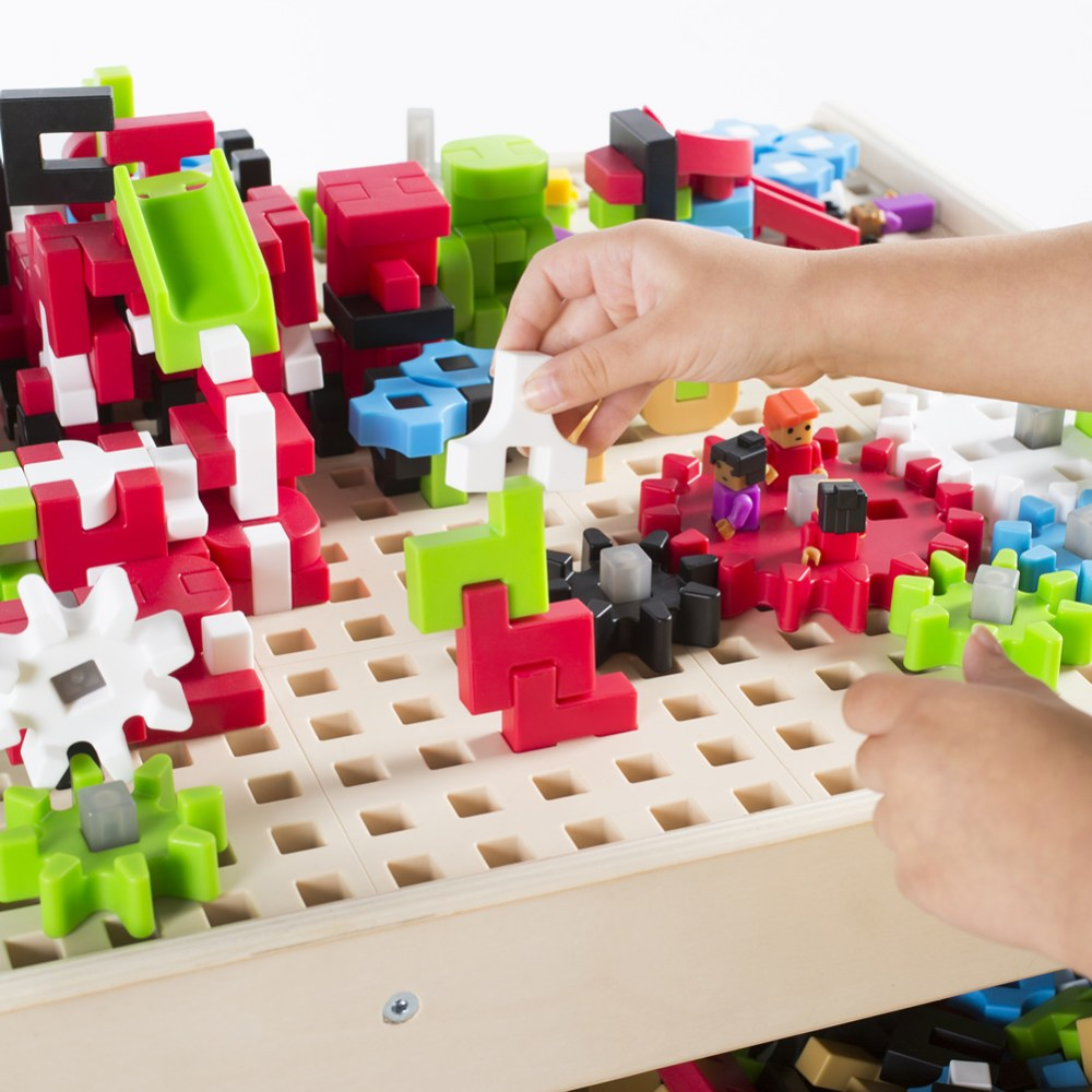Alternate Image #9 of IO Blocks® Center - 458 Building Pieces - STEM Educational and Learning Toy for Toddlers