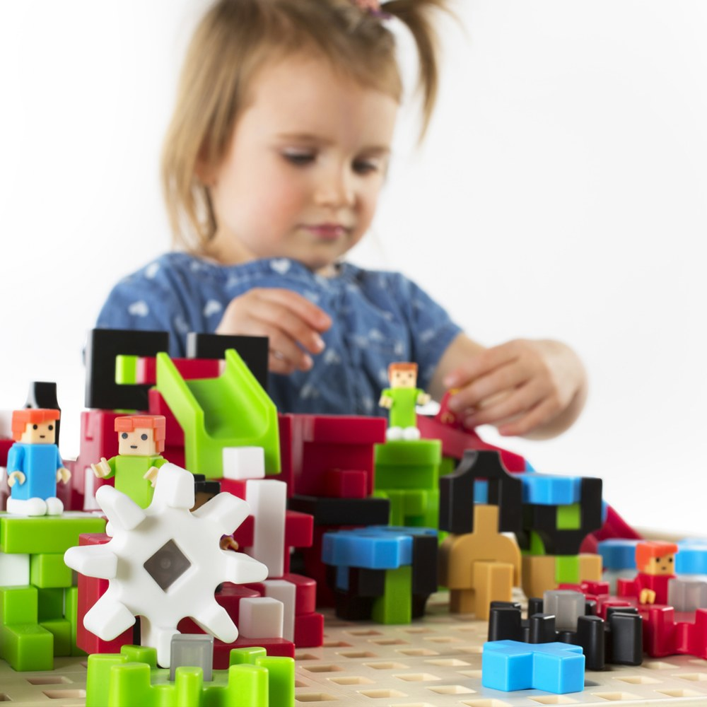 Alternate Image #11 of IO Blocks® Center - 458 Building Pieces - STEM Educational and Learning Toy for Toddlers
