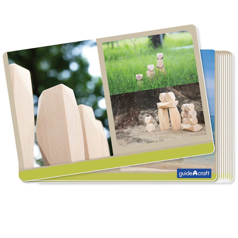 Alternate Image #6 of Wood Stackers: Standing Stones - Set of 20