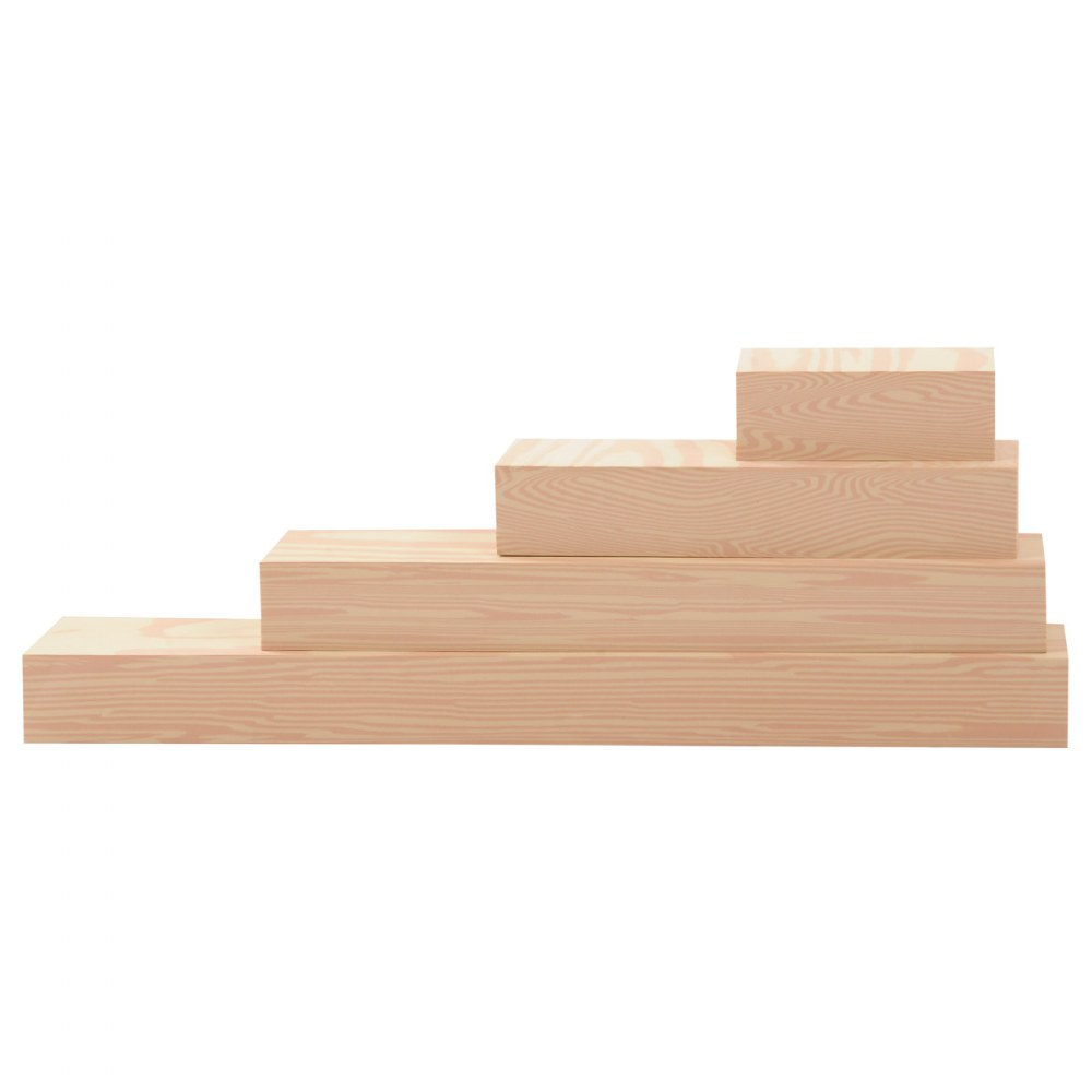 "Alternate Image #2 of Foam ""Wooden"" Lumber - 24 Pieces"