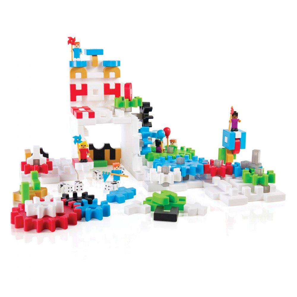 IO Blocks® Tabletop Interlocking Construction Play Set