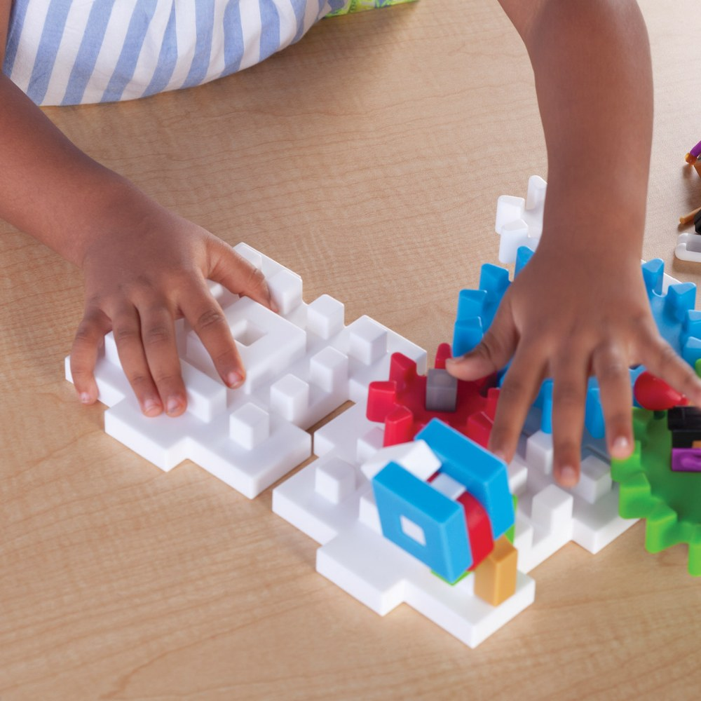 Alternate Image #1 of IO Blocks® Tabletop Interlocking Construction Play Set