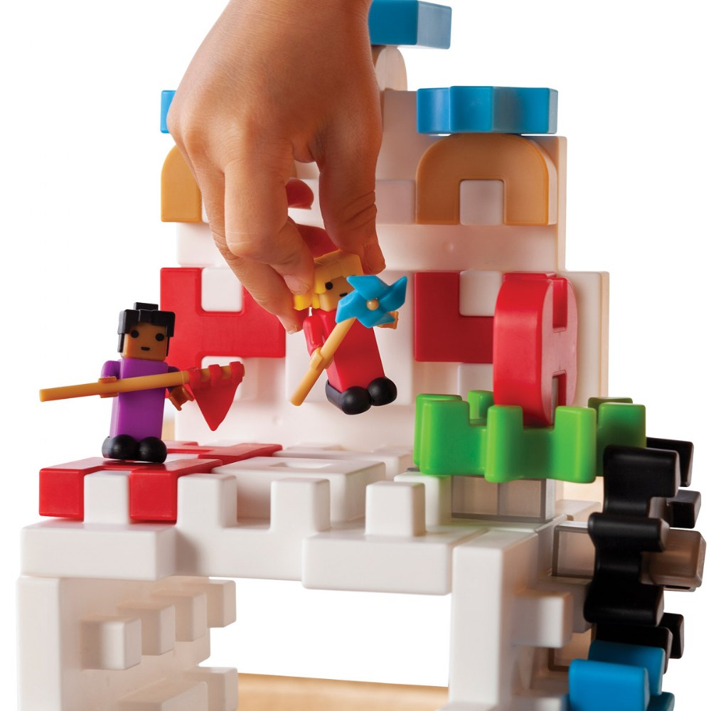 Alternate Image #2 of IO Blocks® Tabletop Interlocking Construction Play Set