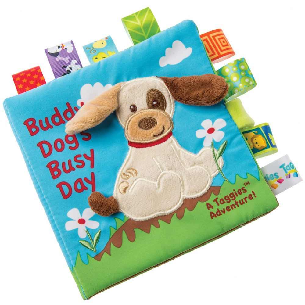 Taggies™ Buddy Dog Cloth Book