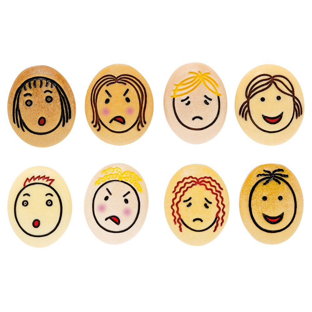 Jumbo Emotion Stones - Set of 8