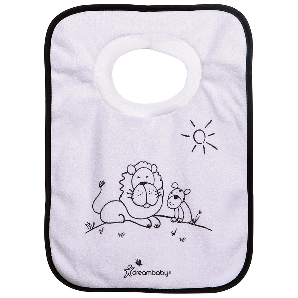 Alternate Image #1 of Jungle Pullover Bibs - Set of 4