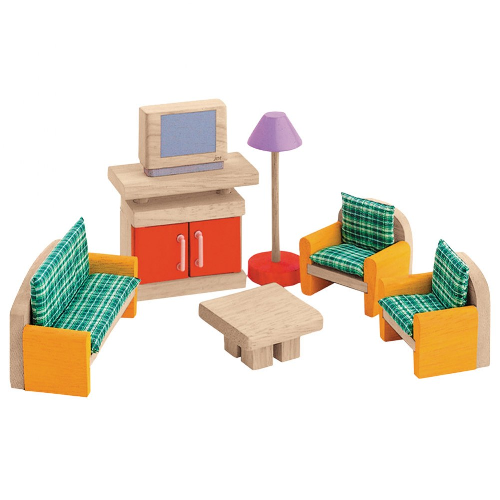 Alternate Image #1 of Wooden Dollhouse Furniture