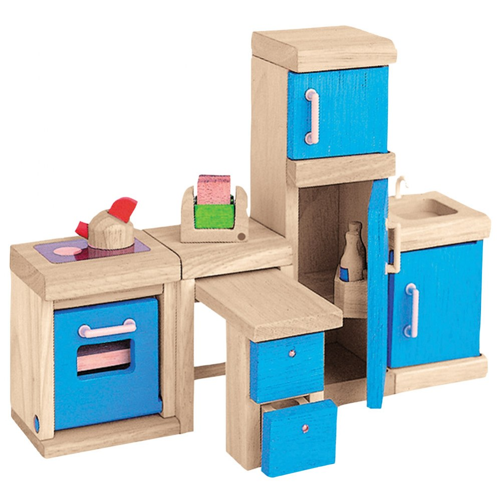 Alternate Image #3 of Wooden Dollhouse Furniture