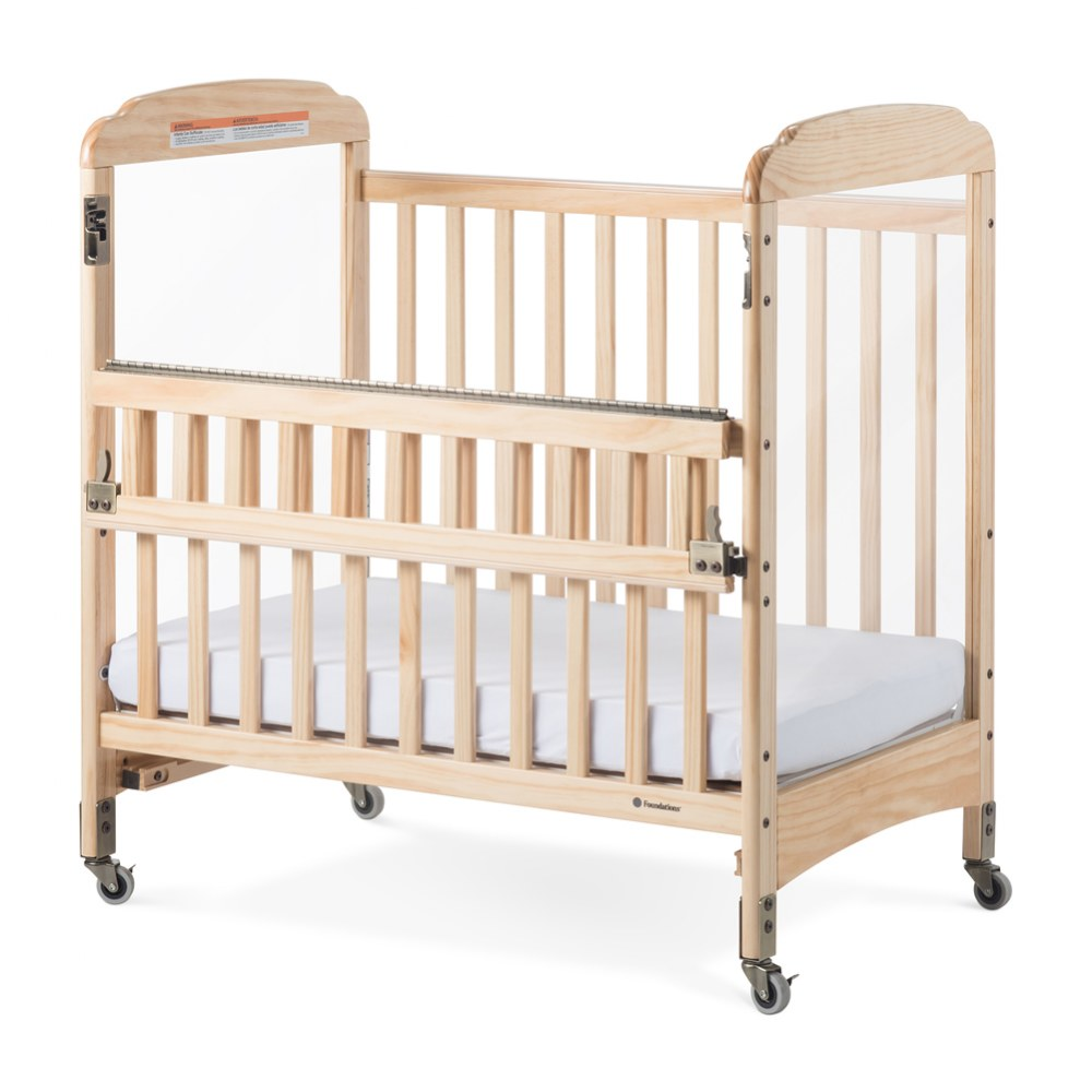 Alternate Image #1 of Next Generation Serenity SafeReach™ Compact Clearview Crib