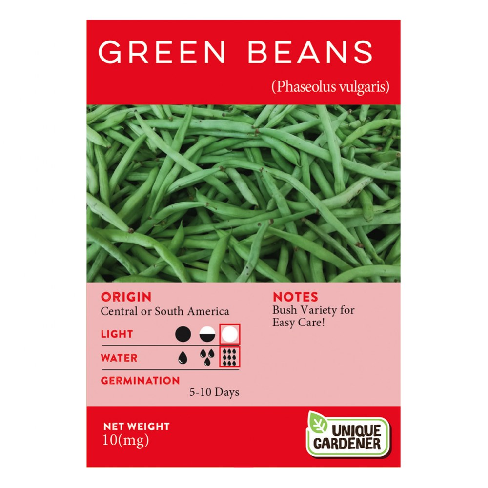 Alternate Image #1 of Bush Green Beans Seeds 3-Pack