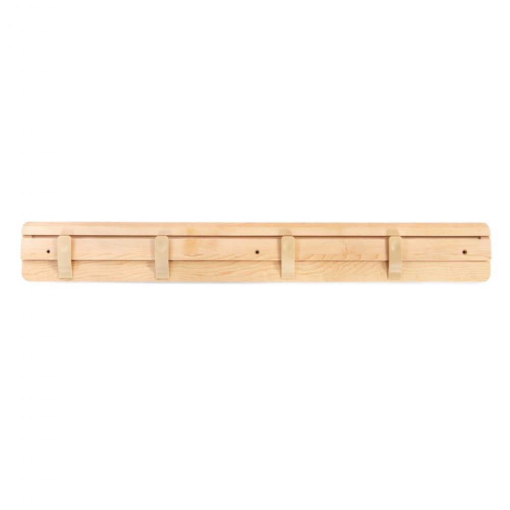 Premium Solid Maple Art Display Bar