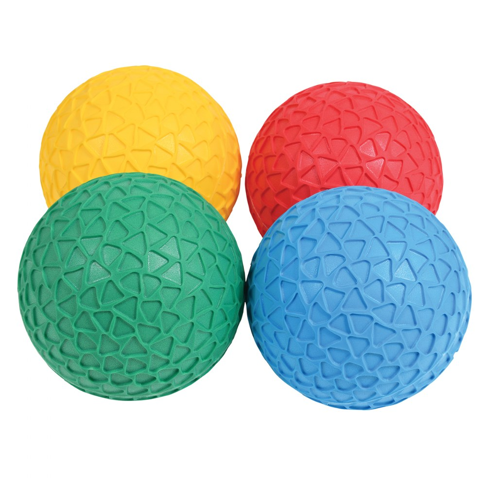 Easy Grip Honeycomb Surface Textured Balls - Set of 4