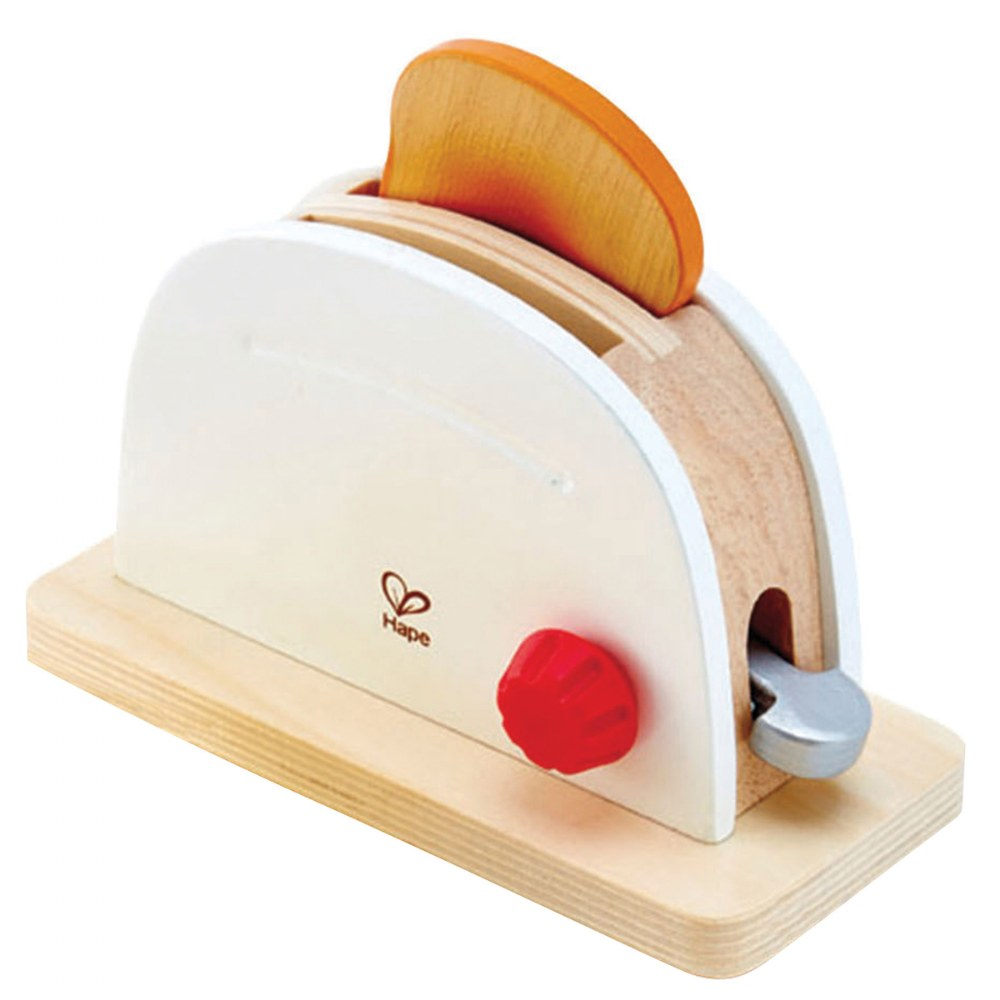 Alternate Image #3 of Pop Up Toaster Wooden Dramatic Role Play and Pretend Play Set for Kids