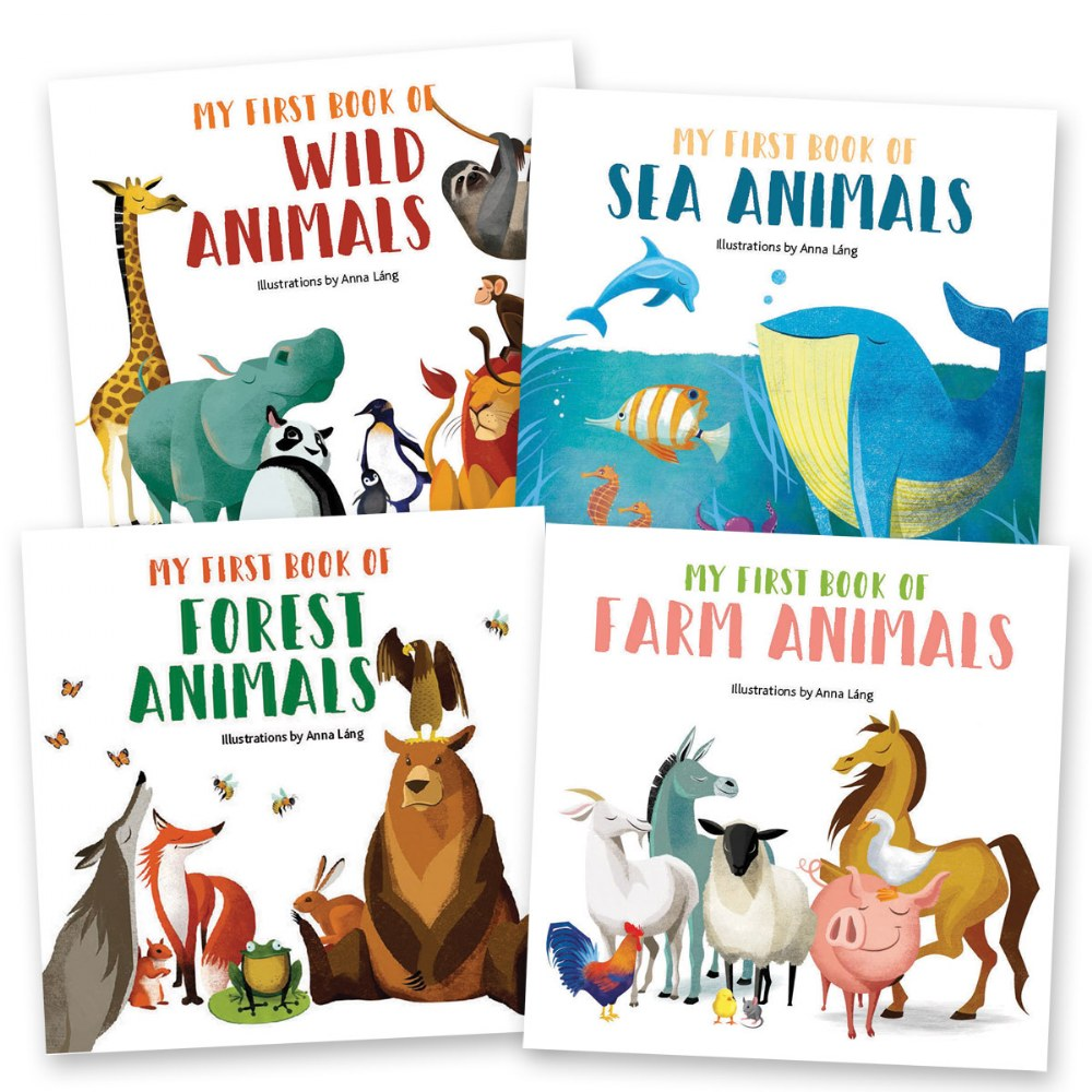 My First Animals Book Set
