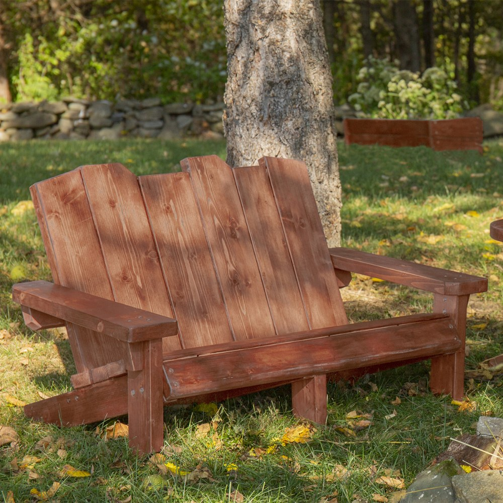 Alternate Image #6 of Nature to Play™ Double Adirondack Chair