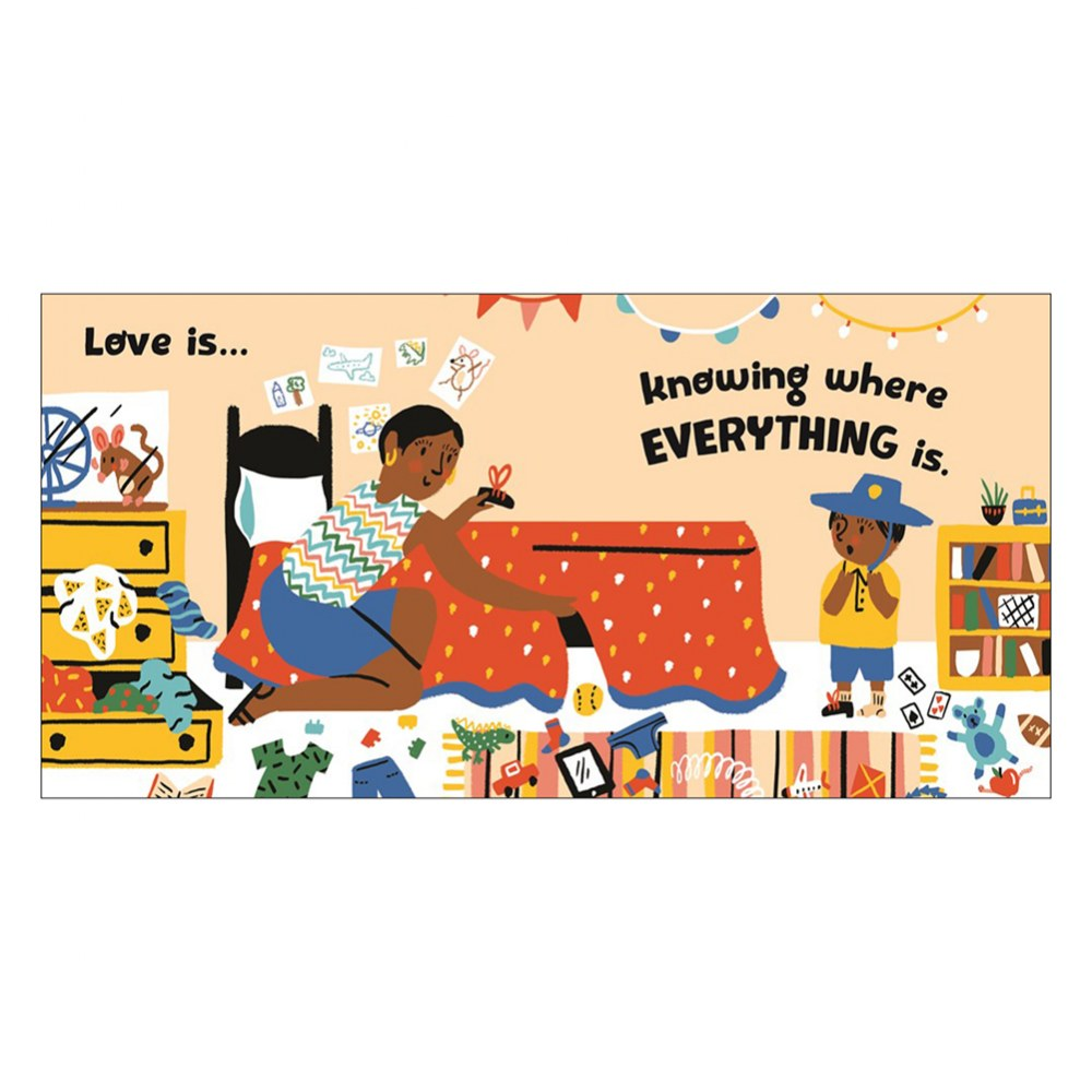 Alternate Image #2 of Love Makes a Family - Board Book