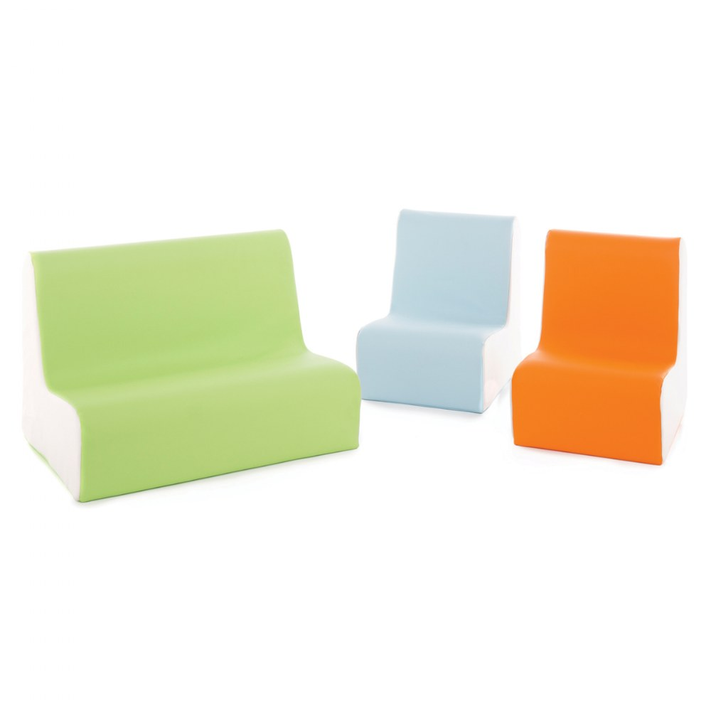 Contemporary Toddler Soft Seating - Set of 3