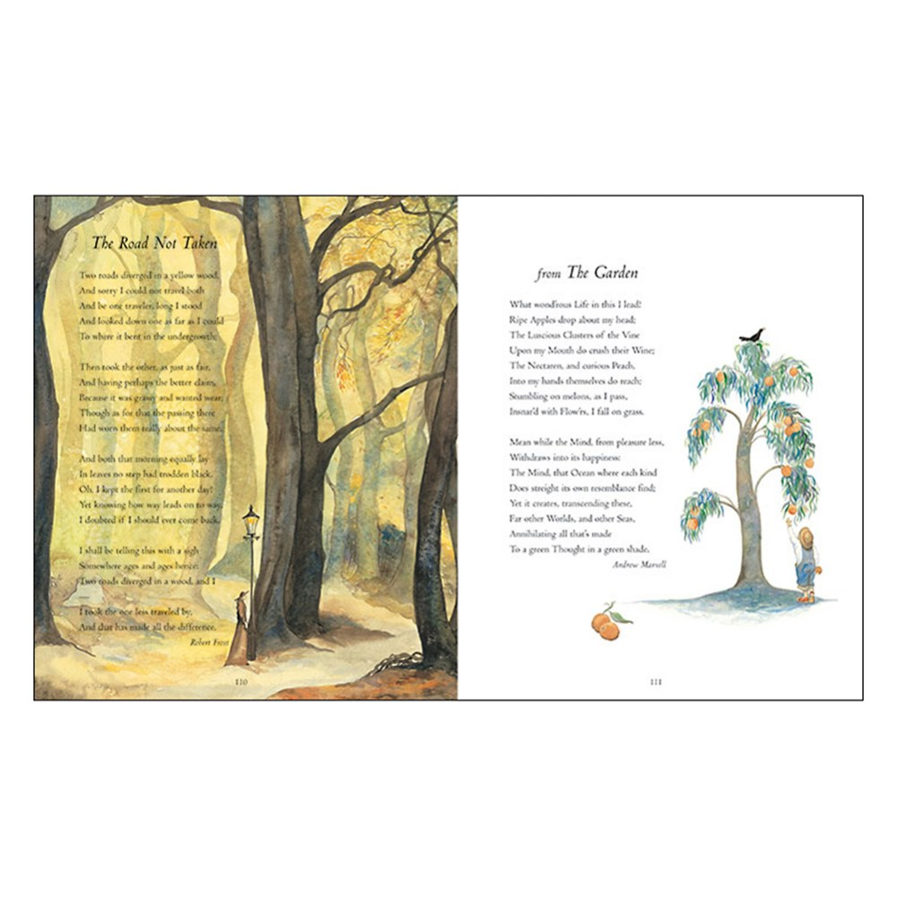 Alternate Image #3 of the Barefoot Book of Classic Poems - Hardcover