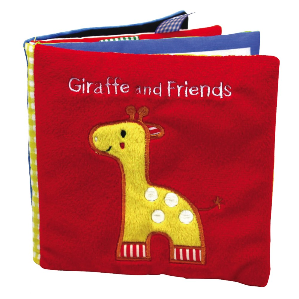 Alternate Image #1 of Animals Cloth Books - Set of 3