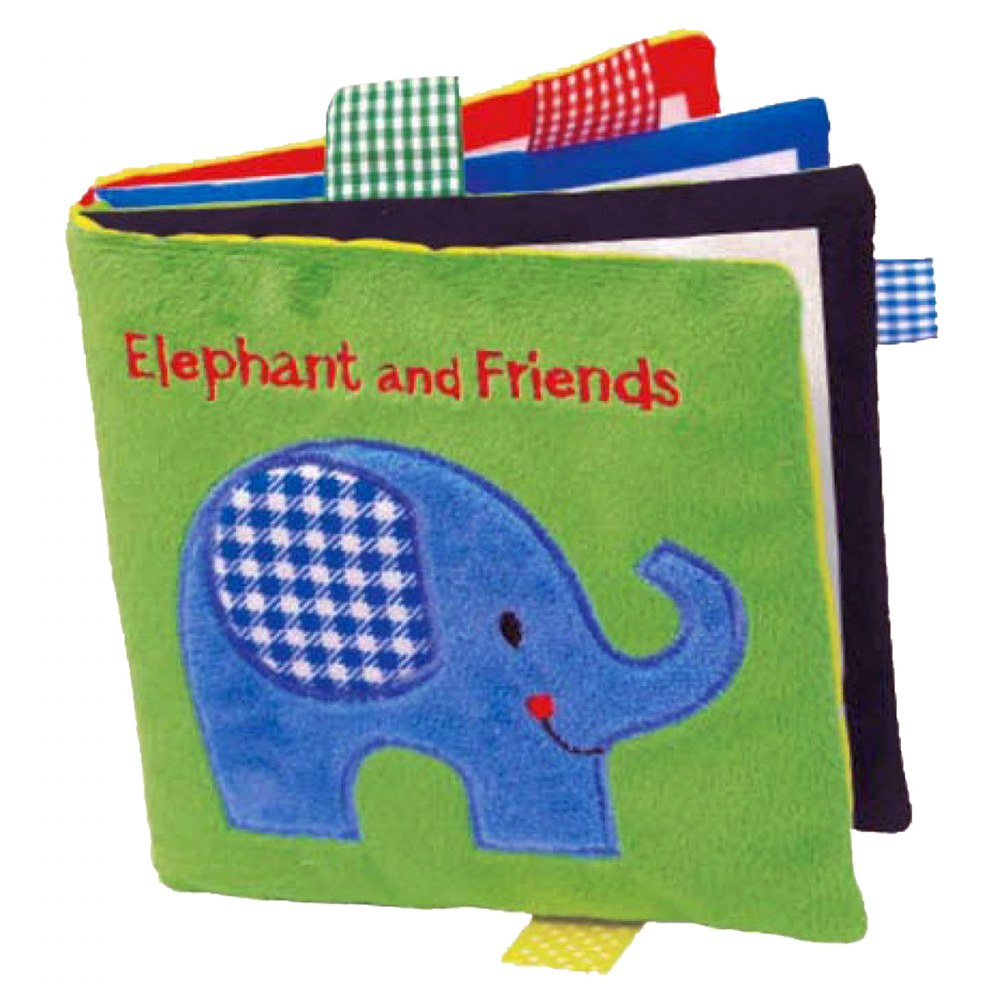 Alternate Image #2 of Animals Cloth Books - Set of 3