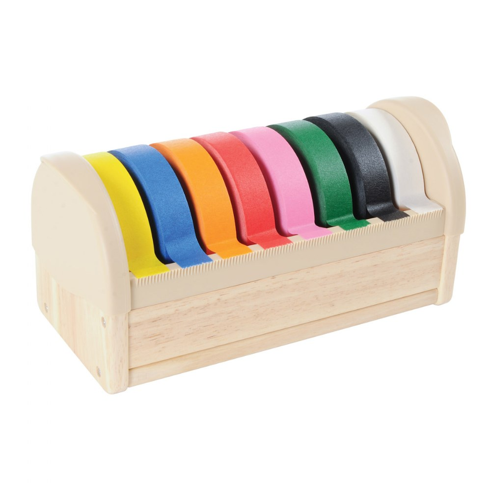 Tape Dispenser with 8 Rolls of Tape