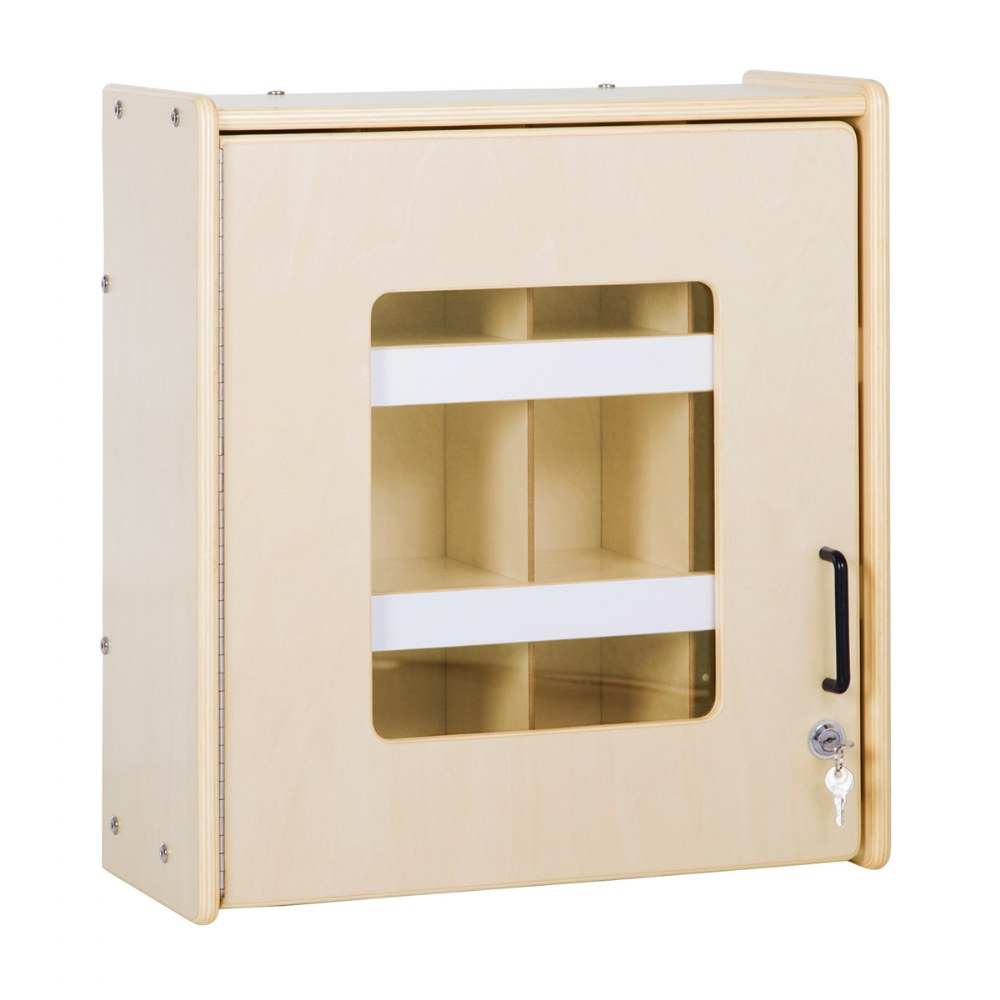 Carolina Locking Supply Cabinet