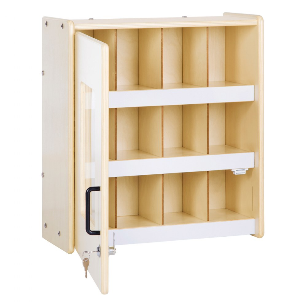 Alternate Image #1 of Carolina Locking Supply Cabinet