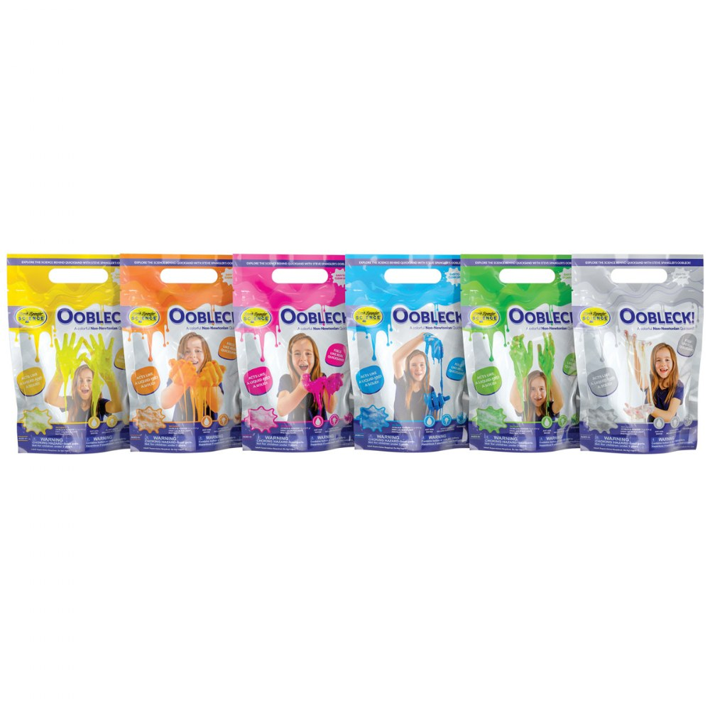 Oobleck Colorful Substance - Set of 6