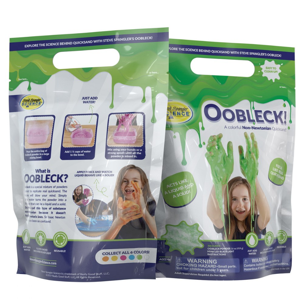 Alternate Image #4 of Oobleck Colorful Substance - Set of 6