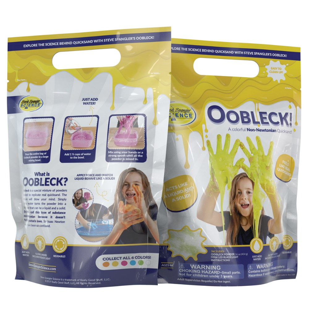 Alternate Image #7 of Oobleck Colorful Substance - Set of 6