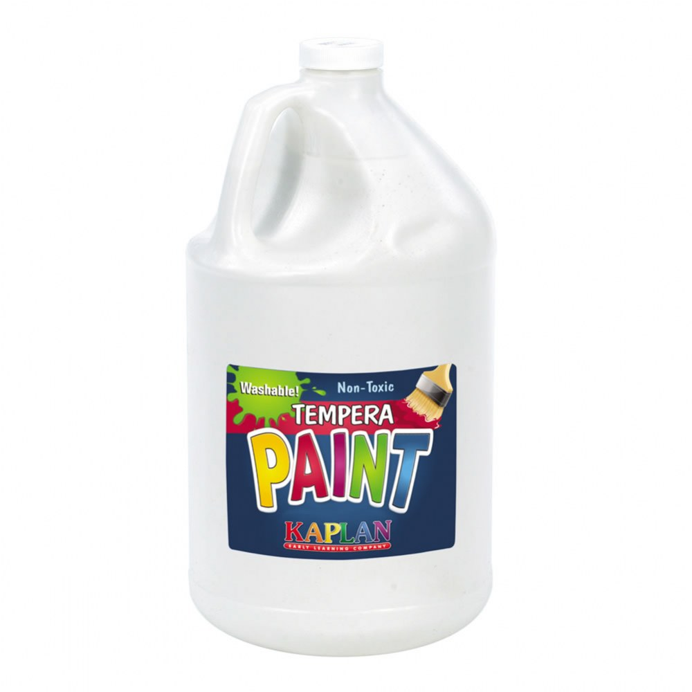 Kaplan Kolors Washable Tempera Paint - Gallon Size