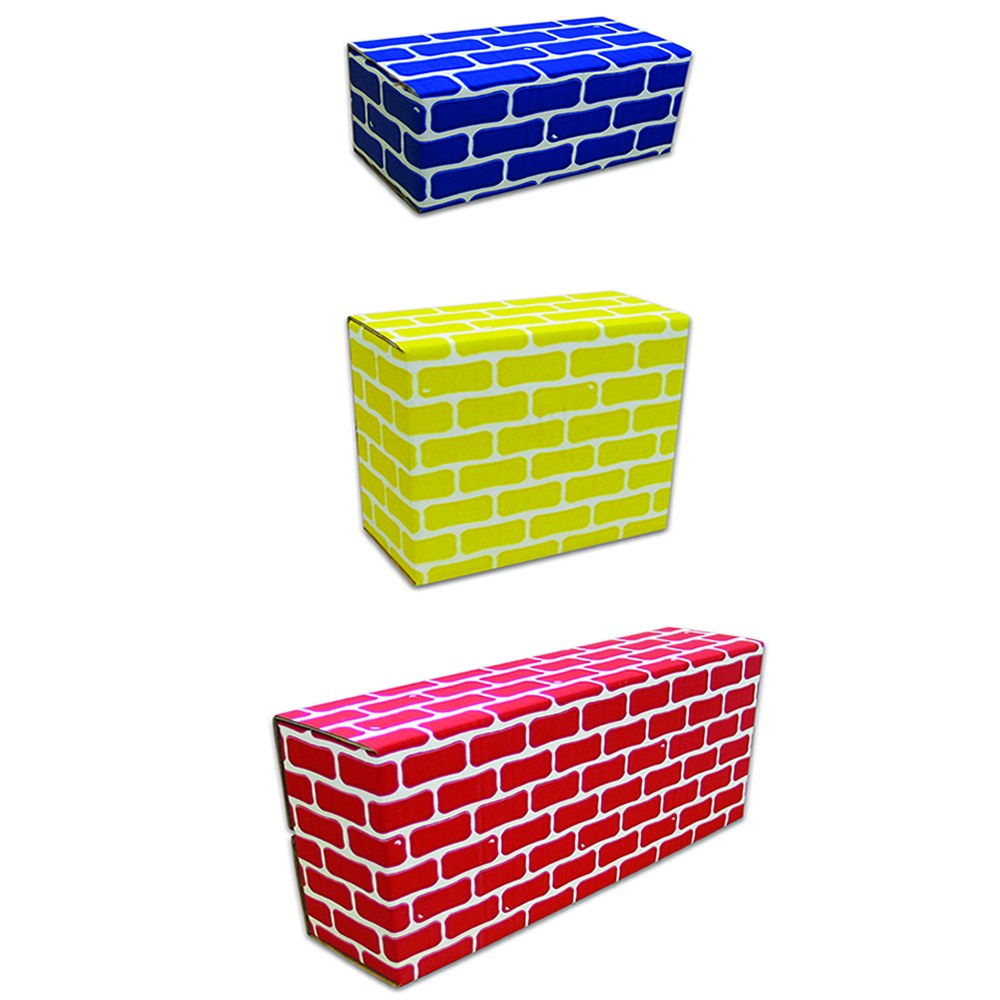 Alternate Image #3 of Brick Block Large Building Set - 44 Pieces