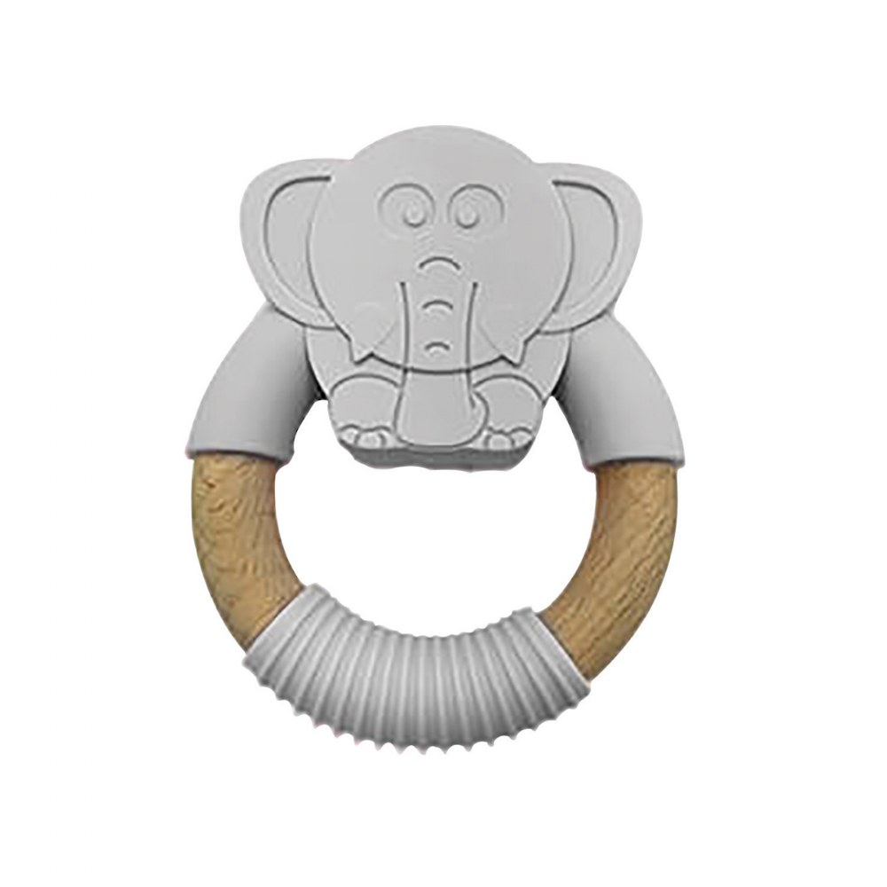 Alternate Image #1 of Natural Animal Teethers - Set of 4