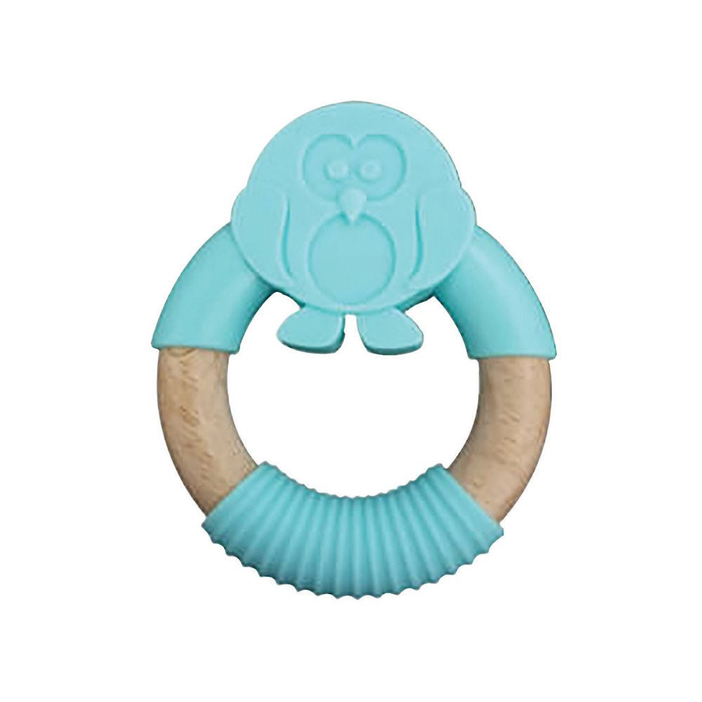 Alternate Image #2 of Natural Animal Teethers - Set of 4