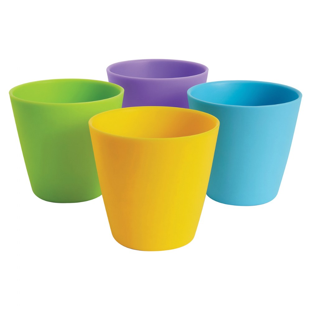 Alternate Image #1 of Multicolor Drinking Cups - Set of 8