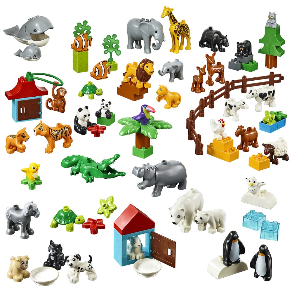 Alternate Image #1 of LEGO® DUPLO® Animals - 45029
