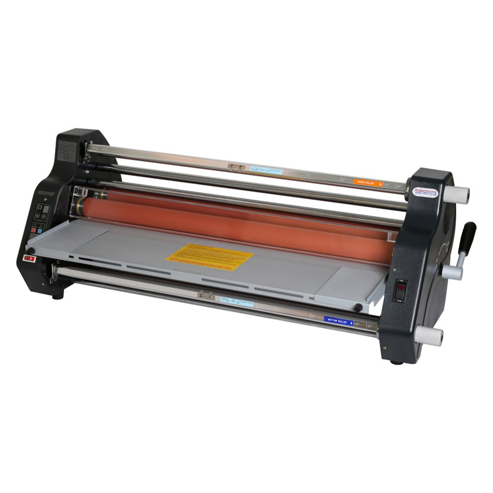 "Variable Speed and Temperature 27"" Roll Laminator"