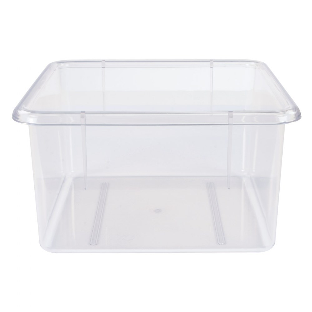 Alternate Image #2 of 5 Clear Bins for 10-Cubby Wall Locker