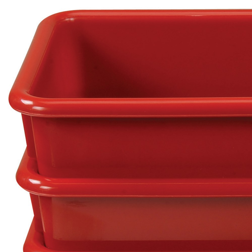 Alternate Image #6 of Vibrant Color Storage Bins - Set of 5